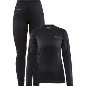 Craft Core Dry Baselayer Set Dames, black